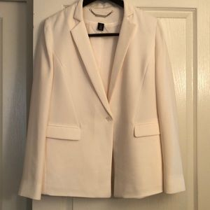WHBM one button jacket.